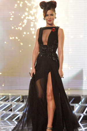 'The X Factor' Results Show Live, TV Programme, London, Britain - 14 Nov 2010 Judge Cheryl Cole