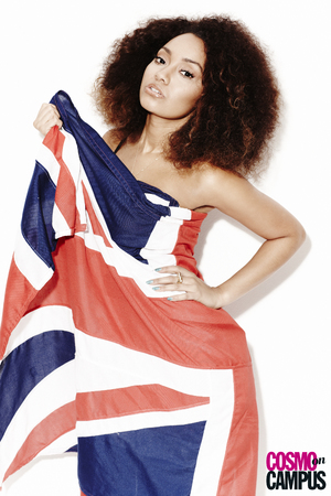 Little Mix's Leigh-Anne in Cosmo on Campus