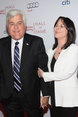 TV Academy Hall of Fame - Jay and Mavis Leno