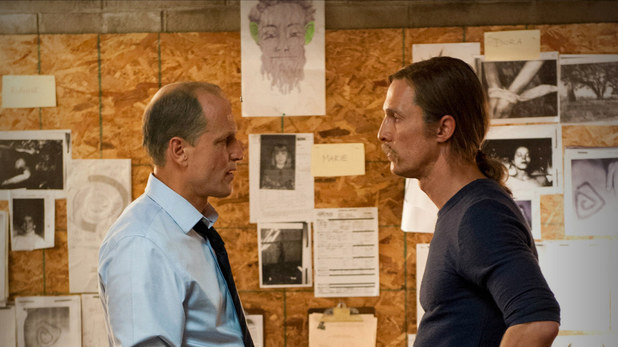 Rust Cohle and Martin Hart in True Detective