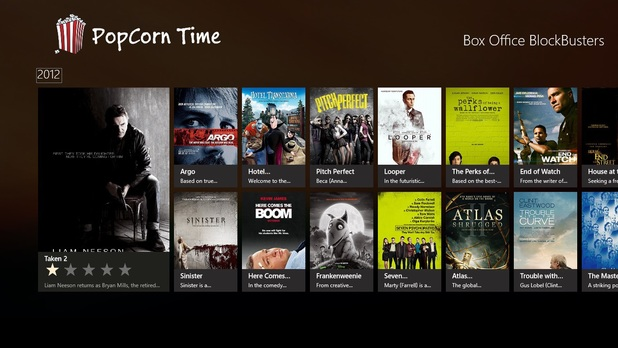 Popcorn Time movie streaming service