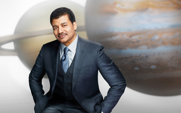 Neil deGrasse Tyson for Cosmos:A Spacetime Odyssey