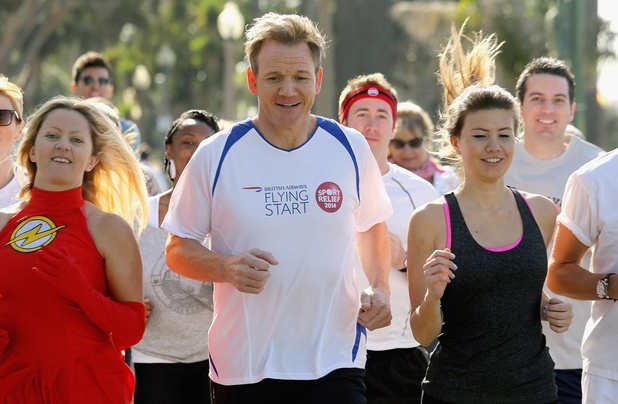 Gordon Ramsay's 'Flash Gordon Mob' hits Los Angeles