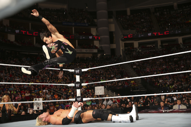 Fandango and Dolph Ziggler at TLC