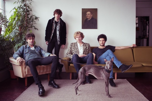 The Kooks, Luke Pritchard 2014 press shot