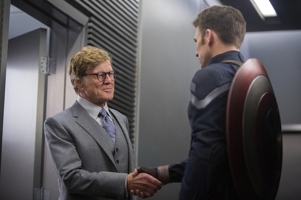 Robert Redford Chris Evans