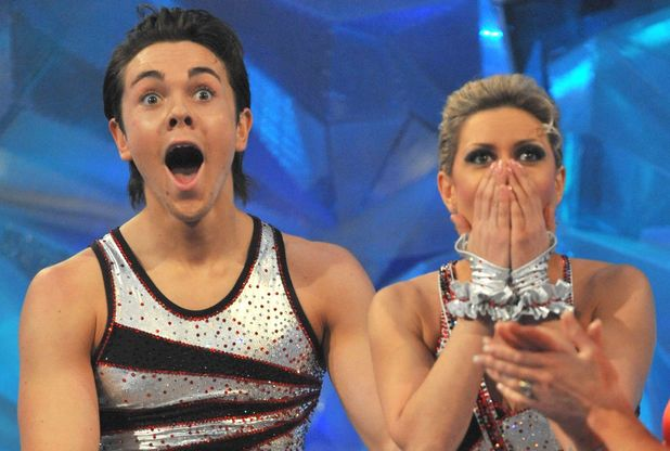 Dancing on Ice' TV Programme, Britain - 15 Feb 2009 Ray Quinn and Maria Filippov 15 Feb 2009