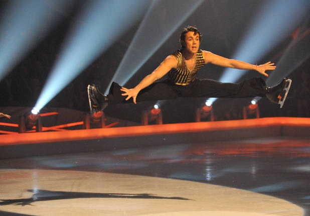 'Dancing on Ice' TV Programme, Britain - 08 Mar 2009 Ray Quinn and Maria Filippov 8 Mar 2009
