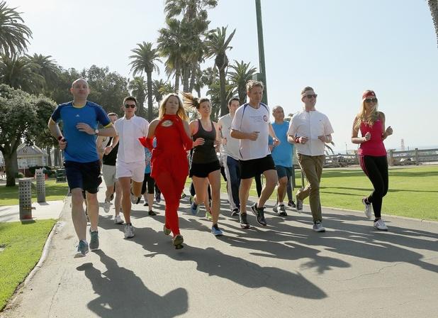 Gordon Ramsay's 'Flash Gordon Mob' hits Los Angeles