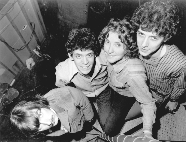 Doug Yule, Lou Reed, Maureen 'Moe' Tucker and Sterling Morrison