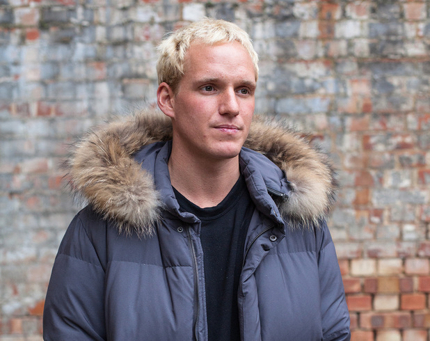 Jamie Laing in 'Famous, Rich and Hungry for Sport Relief'
