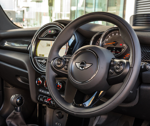 The 2014 Mini interior