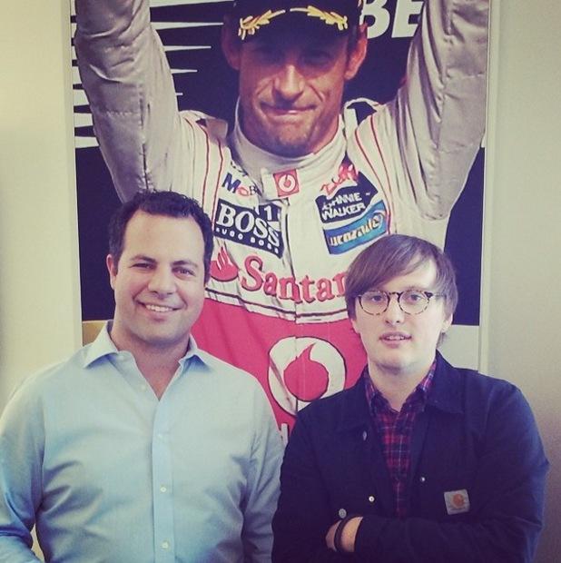 Sky F1's Ted Kravitz
