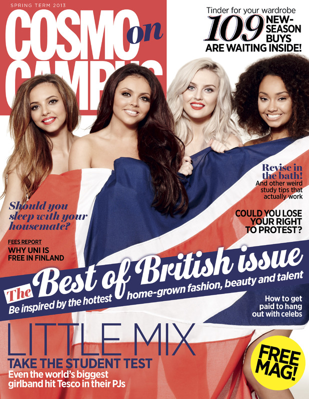 Little Mix on the cover of Cosmo on Campus