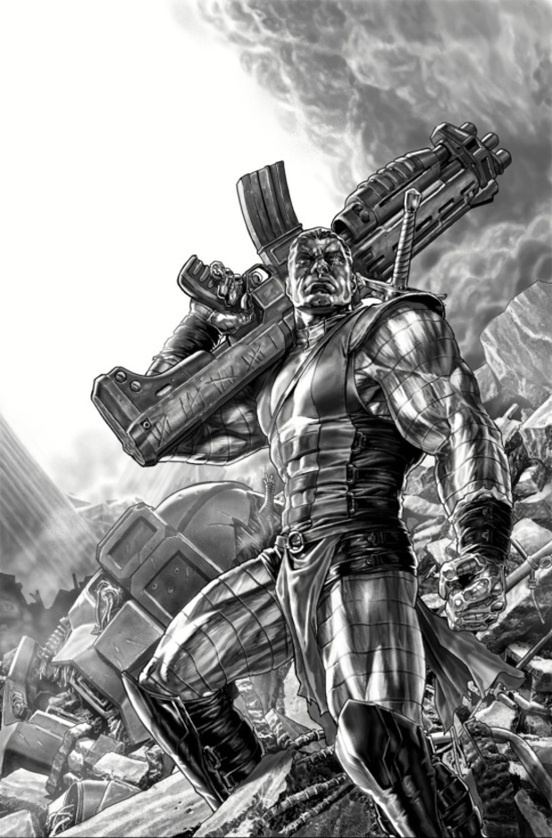 Lee Bermejo's All-New X-Men #25 art