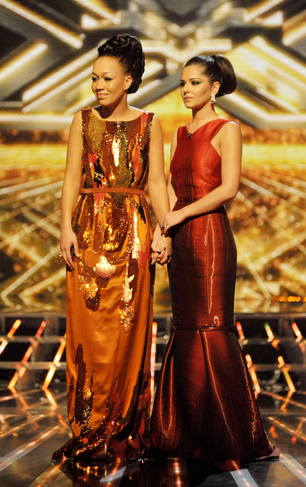 Rebecca Ferguson and Cheryl Cole