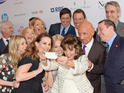 Sam Bailey, Dominic West, Pixie Lott and Sir Ben Kingsley get in the picture.