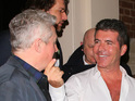 Simon Cowell, Louis Walsh and Sinitta enjoy a night out after X Factor photocall.
