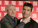Louis Walsh admits that he finds working on The X Factor exhausting.
