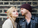 "The rising star on Nick Hornby adaptation and her ""loved up"" co-star Aaron Paul."