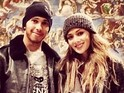 Formula 1 star posts Instagram photo of the couple together in Vatican City.