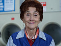 June Brown has been struggling to hear after a recent flight to Glasgow.