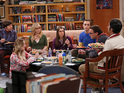 Simon Helberg, Kaley Cuoco, Melissa Rauch, Mayim Bialik, Jim Parsons, Johnny Galecki and Kunal Nayyar in The Big Bang Theory