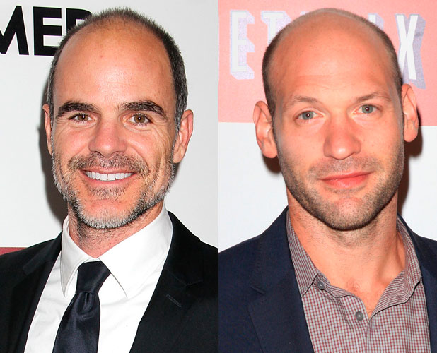 Corey Stoll and Michael Kelly