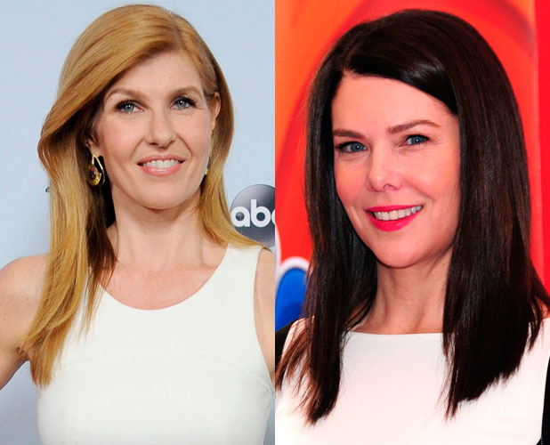 Lauren Graham and Connie Britton