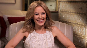 "Kylie Minogue discusses reuniting with Nick Cave on 20,000 Days on Earth, starring in Holy Motors and why she feels like ""Kylie with lights on""."
