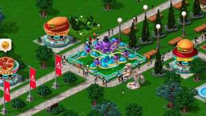 Rollercoaster Tycoon 4 Mobile announcement trailer