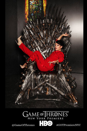 Lily Allen, Game of Thrones twitter