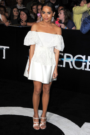 LOS ANGELES, CA - MARCH 18: Zoe Kravitz arrives at the 'Divergent' - Los Angeles Premiere at Regency Bruin Theatre on March 18, 2014 in Los Angeles, California. (Photo by Steve Granitz/WireImage)