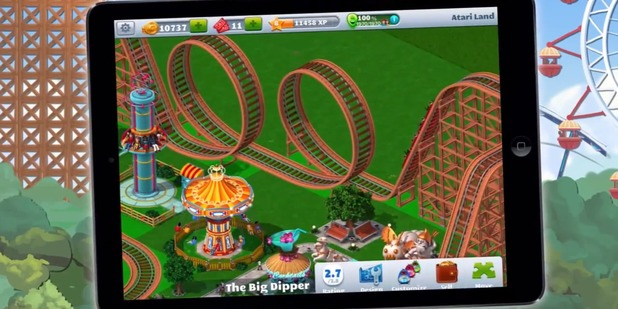 Rollercoaster Tycoon 4 makes its iOS debut this spring