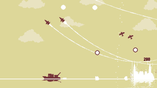 Luftrausers is an arcade shooter for PlayStation platforms and PC