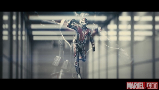 Test footage from Edgar Wright's Ant-Man