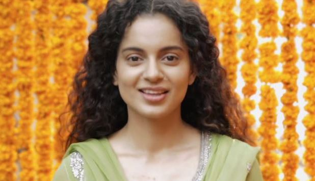Kangana Ranaut in Queen teaser video