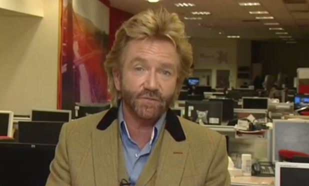 Jeremy Paxman interviews Noel Edmonds on Newsnight