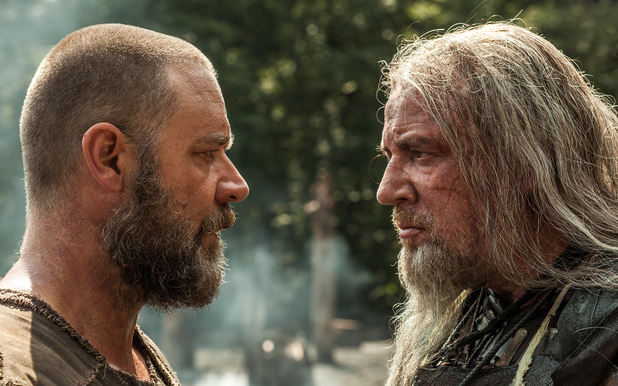 Russell Crowe, Ray Winstone in Noah