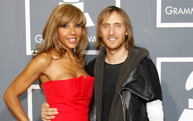 David Guetta and wife Cathy attend The 53rd Annual GRAMMY Awards