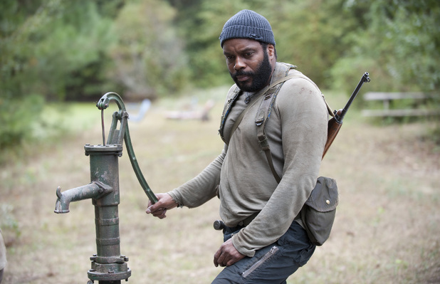 Chad Coleman as Tyreese in The Walking Dead: 'The Grove'