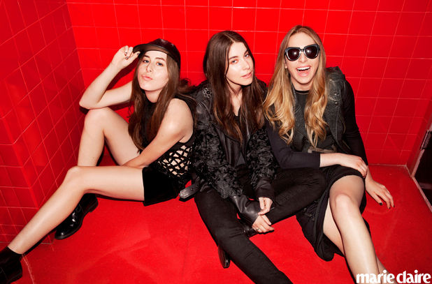 Haim in Marie Claire
