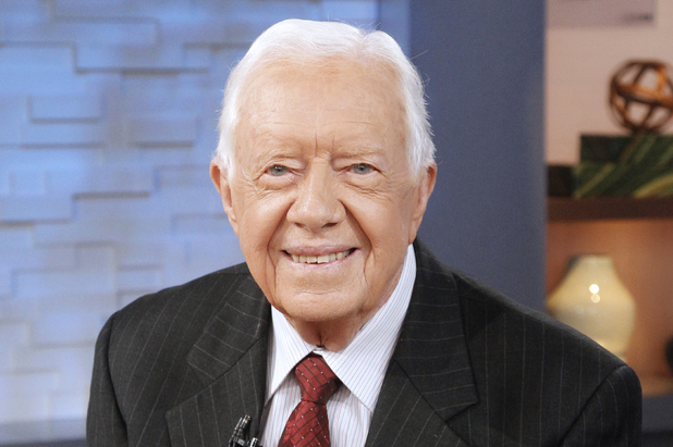 Former President Jimmy Carter on Good Morning America