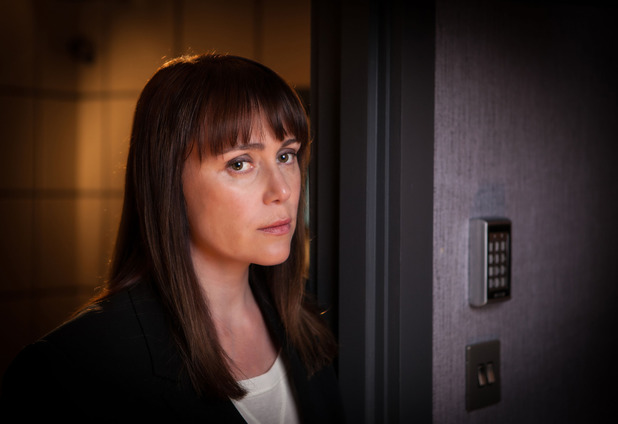 Keeley Hawes as Detective Inspector Lindsay Denton in Line of Duty: Episode 6