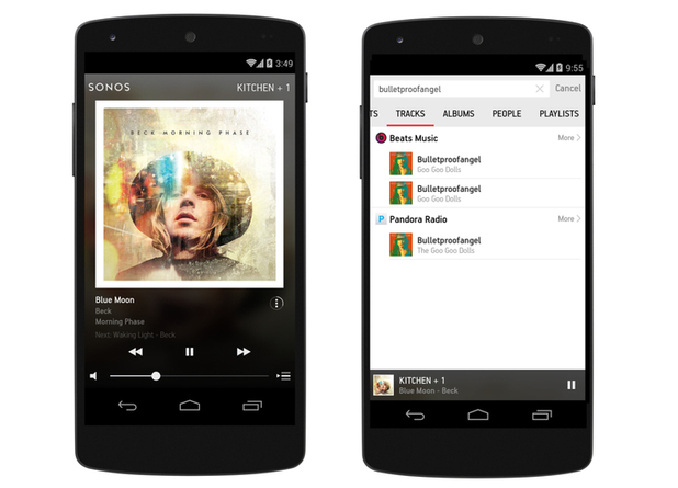 Sonos' new Controller app for Android