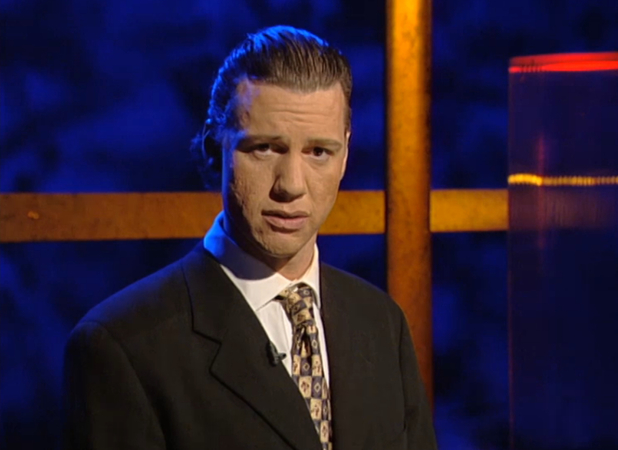 Chris Morris in Brass Eye