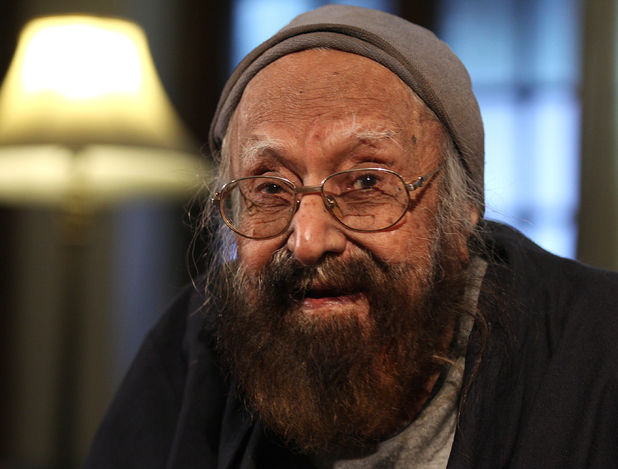 Indian author and editor Khushwant Singh