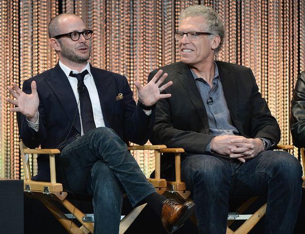 Executive producers Damon Lindelof and Carlton Cuse participate in a panel discussion at The Paley Center For Media's PaleyFest 2014