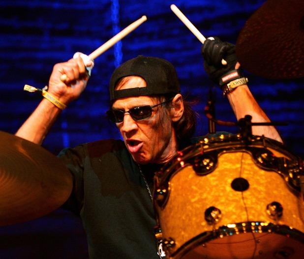 Drummer Scott Asheton of Iggy & The Stooges