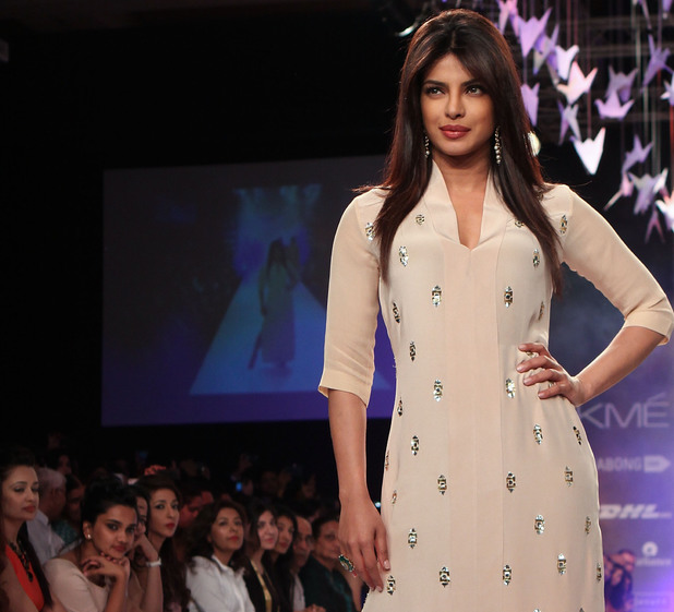 Priyanka Chopra at Lakme Fashion Week